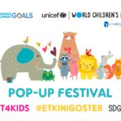 UNICEF Dünya Çocuk Günü Etkinlik Daveti